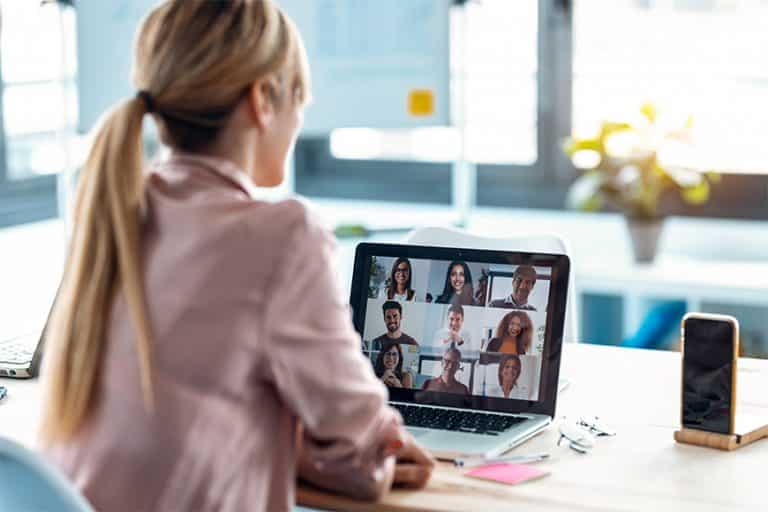 Betriebsratssitzung als Videokonferenz