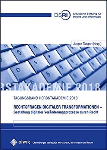 RECHTSFRAGEN DIGITALER TRANSFORMATIONEN