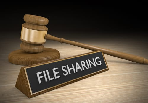 illegales filesharing