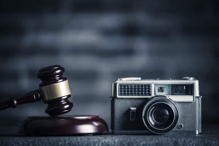 Urheberrecht Kamera