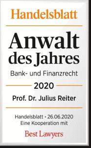 Julius Reiter Bestlawers Anwalt des Jahres 2020